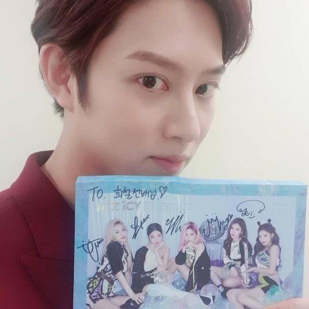 Với độ cuồng ITZY thế này, vị trí trưởng fan club MIDZY phải xướng tên Siêu sao vũ trụ Kim Hee Chul! - Ảnh 3.