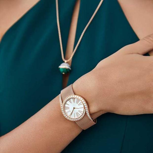 Châu Bùi đeo đồng hồ tiền tỷ dự sự kiện Piaget tại Bangkok - Ảnh 8.