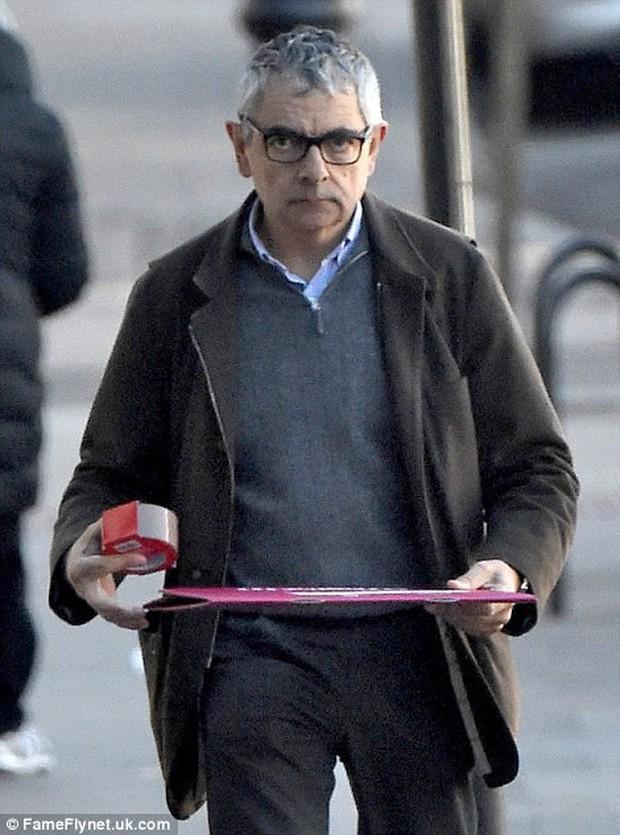Nhìn những hình ảnh này khó lòng mà nhận được ra đây là biểu tượng văn hóa nước Anh Mr. Bean hài hước ngày nào - Ảnh 7.