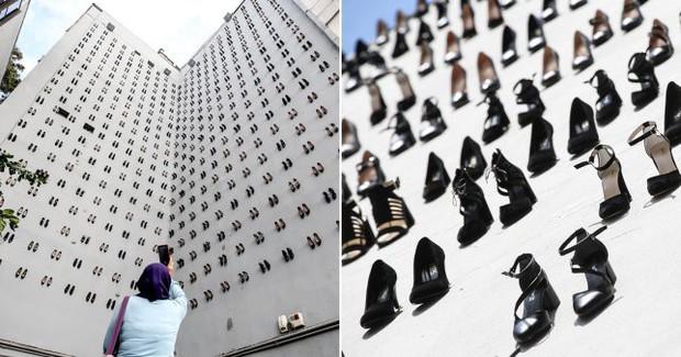 Sự thật đau lòng về số phận người phụ nữ đằng sau hình ảnh 440 đôi giày cao gót được gắn lên tường ở Thổ Nhĩ Kỳ - Ảnh 3.