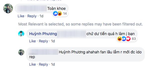 Mới công khai yêu Sĩ Thanh đã bị anti-fan cà khịa làm màu được mấy bữa Huỳnh Phương đáp trả cực đanh đá - Ảnh 2.