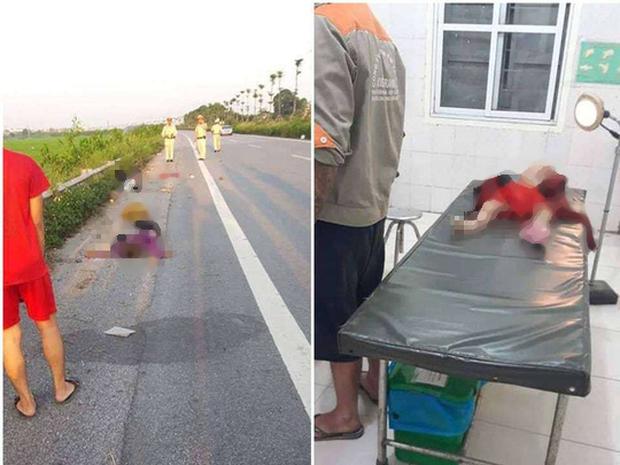 Vụ tai nạn làm 3 mẹ con tử vong, người bố bị thương nặng ở Hà Nội: Có khả năng xe máy tự ngã - Ảnh 2.