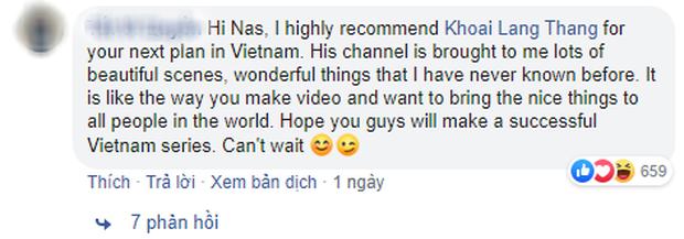 """Travel blogger nổi tiếng Nas Daily chỉ muốn hợp tác với người Việt """"hơn 1 triệu lượt theo dõi trên Facebook"""", Khoai Lang Thang đáp trả cực gắt - Ảnh 7."""