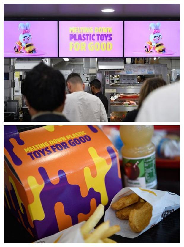 Không muốn nhận đồ chơi nhựa khi đi ăn fast-food, hai cô bé người Anh khiến loạt ông lớn phải đứng lên vì môi trường - Ảnh 4.