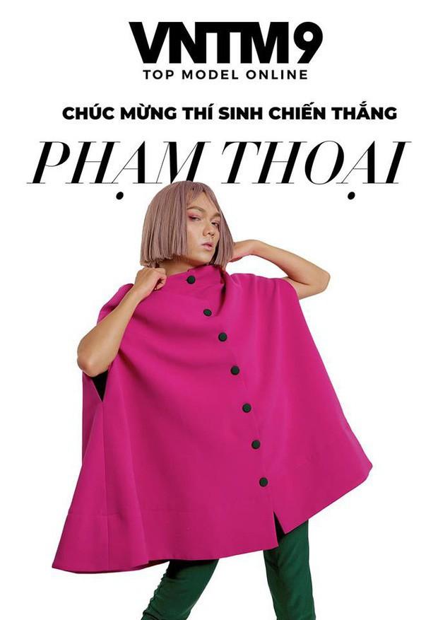 Thánh chửi Phạm Thoại (Vietnams Next Top Model): Dù là anh Nam Trung hay chị Võ Hoàng Yến thì mình vẫn không e dè gì đâu - Ảnh 1.