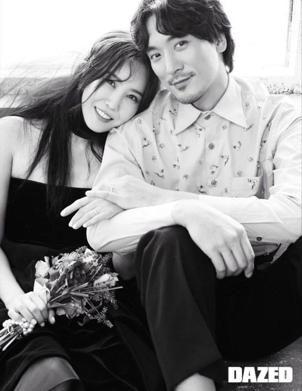 Chị gái ruột G-Dragon và tài tử Hàn khoe ảnh cưới cực chất: Quá đẳng cấp, ai bảo cô dâu cứ phải diện váy trắng? - Ảnh 4.