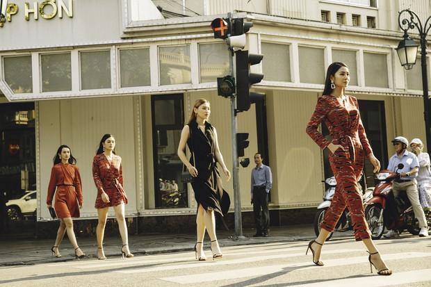 Bất ngờ khi những ngã tư đường Hà Nội được hô biến thành sàn catwalk - Ảnh 6.