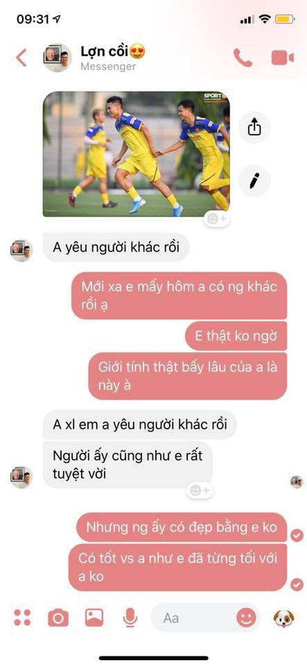 Vừa lên tập trung tuyển Việt Nam, Phạm Xuân Mạnh nói với bạn gái: Anh yêu người khác rồi - Ảnh 1.