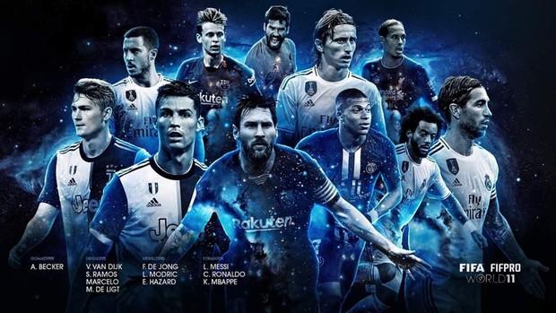 Đánh bại Ronaldo và Van Dijk, Messi giành giải thưởng Cầu thủ hay nhất thế giới năm 2019 - Ảnh 3.