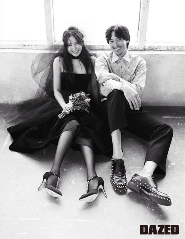 Chị gái ruột G-Dragon và tài tử Hàn khoe ảnh cưới cực chất: Quá đẳng cấp, ai bảo cô dâu cứ phải diện váy trắng? - Ảnh 3.