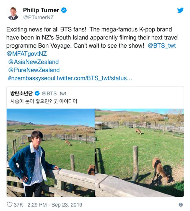Vừa mới quay trở lại Twitter, V (BTS) đã khiến dân tình náo loạn với loạt ảnh du lịch New Zealand đẹp như poster phim điện ảnh vậy! - Ảnh 5.