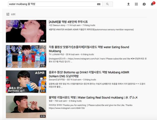 Không thể tin nổi: Youtube Hàn Quốc có trào lưu mukbang… nước lọc cực hot, bộ nước trắng có gì hấp dẫn vậy ta? - Ảnh 2.