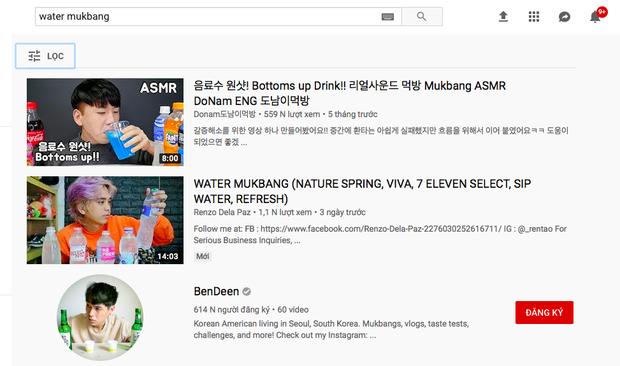 Không thể tin nổi: Youtube Hàn Quốc có trào lưu mukbang… nước lọc cực hot, bộ nước trắng có gì hấp dẫn vậy ta? - Ảnh 3.
