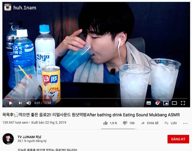 Không thể tin nổi: Youtube Hàn Quốc có trào lưu mukbang… nước lọc cực hot, bộ nước trắng có gì hấp dẫn vậy ta? - Ảnh 5.