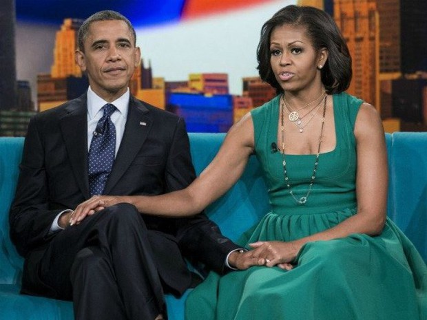 Gia đình Obama: 28 năm hạnh phúc là nhờ vào khả năng cân bằng giữa sự nghiệp và gia đình của Michelle Obama - Ảnh 1.