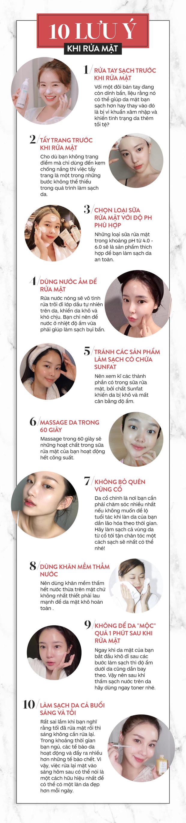 Chăm sóc da mùa hanh khô: 10 lưu ý khi rửa mặt để da luôn bóng khỏe và không bong tróc - Ảnh 1.