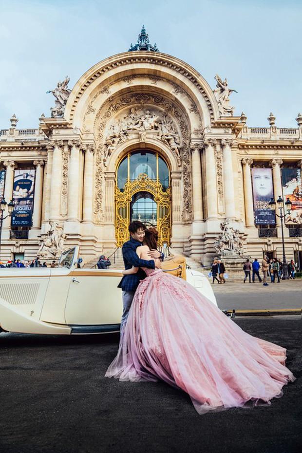 Nàng Rich kid Giang Lê tung bộ ảnh cưới xuất sắc tại Paris, chú rể hóa ra cũng là hot boy nổi tiếng không kém cạnh - Ảnh 3.