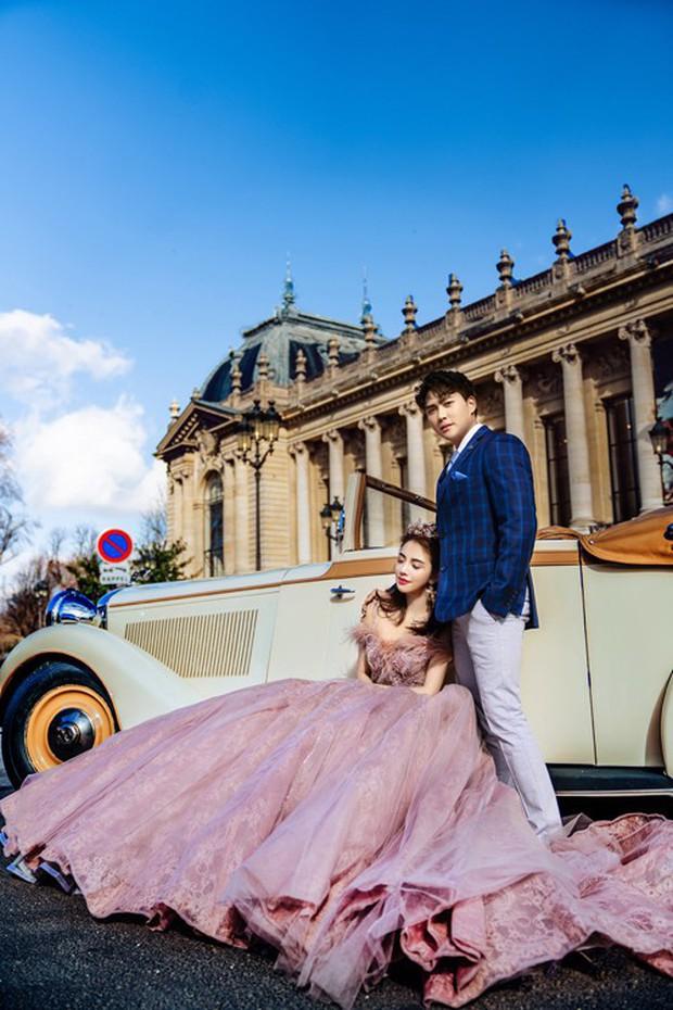 Nàng Rich kid Giang Lê tung bộ ảnh cưới xuất sắc tại Paris, chú rể hóa ra cũng là hot boy nổi tiếng không kém cạnh - Ảnh 4.