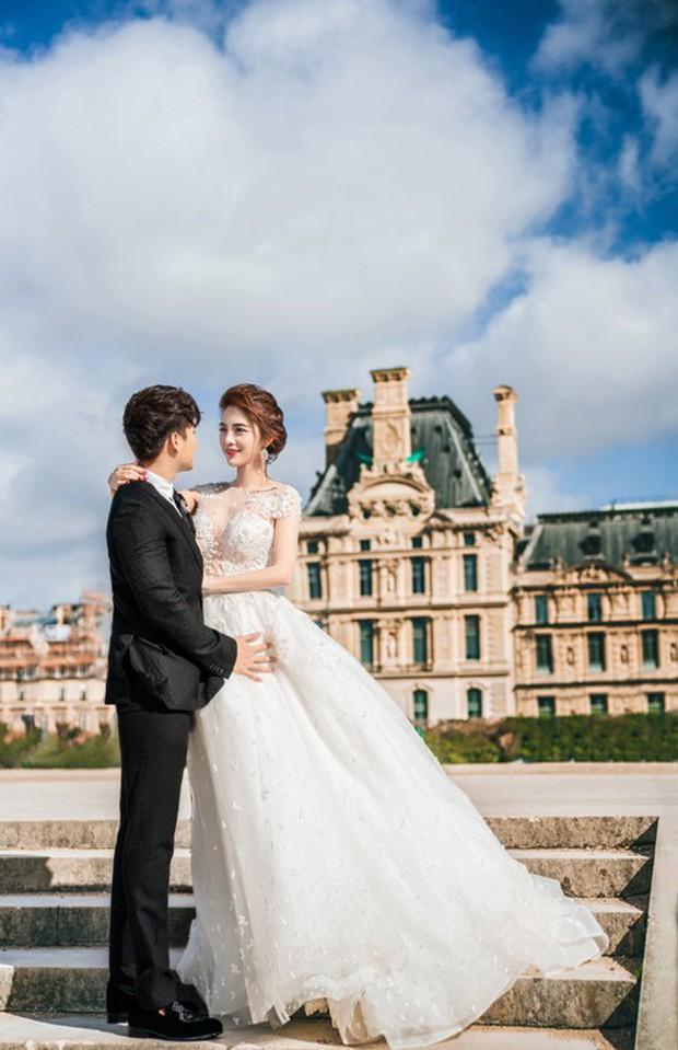 Nàng Rich kid Giang Lê tung bộ ảnh cưới xuất sắc tại Paris, chú rể hóa ra cũng là hot boy nổi tiếng không kém cạnh - Ảnh 5.