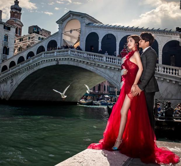 Nàng Rich kid Giang Lê tung bộ ảnh cưới xuất sắc tại Paris, chú rể hóa ra cũng là hot boy nổi tiếng không kém cạnh - Ảnh 9.