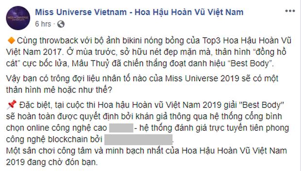 Hoa hậu Hoàn vũ Việt Nam 2019: Thi hình thể mà để khán giả vote, ai đông fan nhất là thắng? - Ảnh 1.