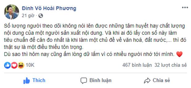 Đòi hỏi có 1 triệu followers của Nas khiến Khoai Lang Thang lên tiếng: Dân mạng Việt có đang quá nhạy cảm khi chưa gì đã... tự ái? - Ảnh 2.