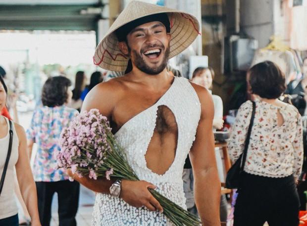Chàng trai mặc váy đại náo Vietnams Next Top Model: Giả gái nhưng không cạo râu vì tôi thích thế - Ảnh 1.