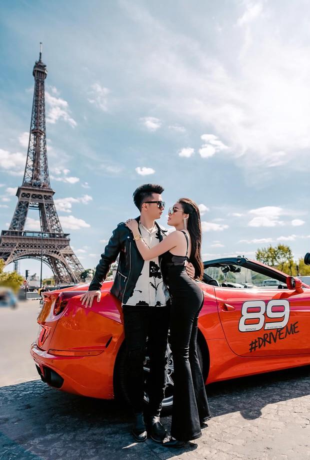 Nữ giảng viên sexy Âu Hà My cùng chồng tung bộ ảnh cưới bên siêu xe Ferrari dưới chân tháp Eiffel - Ảnh 5.