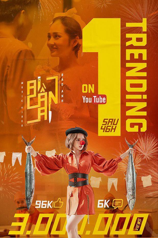 Bảo Anh đẹp đỉnh cao, hát Ai Cần Ai phiên bản piano ăn mừng chiến thắng top 1 Trending - Ảnh 4.
