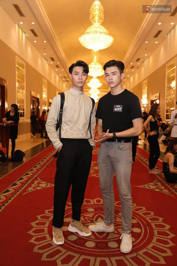 Bản sao Hoàng Thùy, thí sinh Hoa hậu Hoàn vũ... gây ấn tượng tại buổi casting Vietnams Next Top Model 2019 - Ảnh 8.