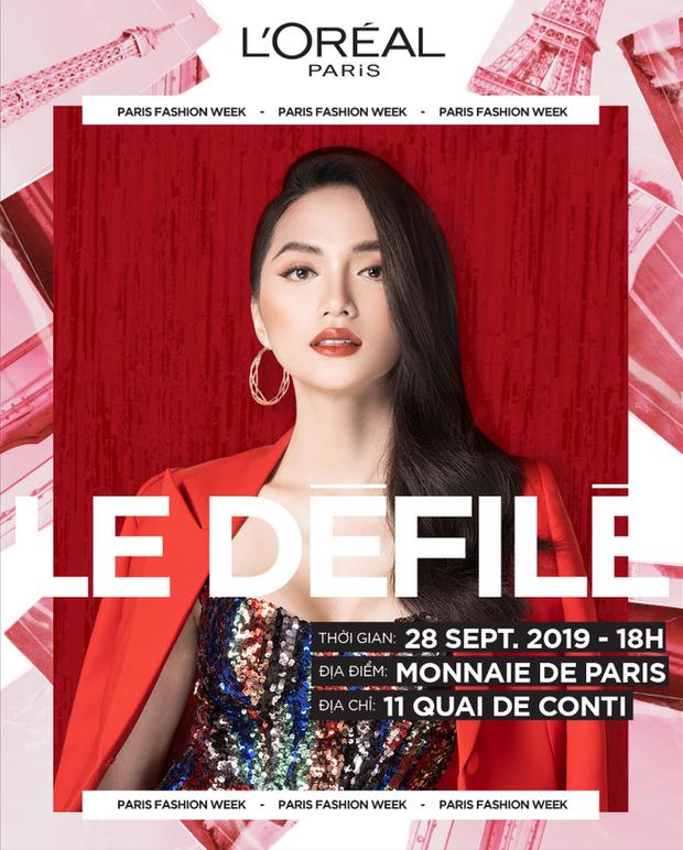 Hương Giang là khách mời Việt Nam duy nhất của show diễn Le Défilé L'Oréal Paris, chuẩn bị hội ngộ loạt mỹ nhân đình đám thế giới - Ảnh 3.