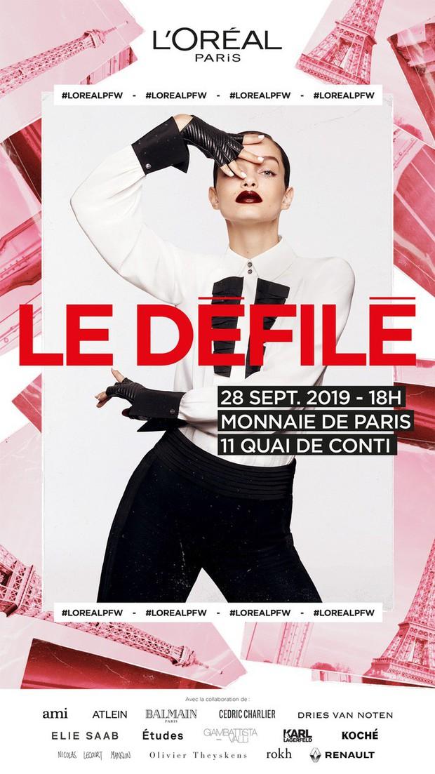 Hương Giang là khách mời Việt Nam duy nhất của show diễn Le Défilé L'Oréal Paris, chuẩn bị hội ngộ loạt mỹ nhân đình đám thế giới - Ảnh 1.