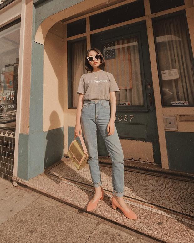 Đã tìm ra kiểu quần jeans vô địch về khoản hack tuổi, nhưng vẫn thanh lịch chẳng kém quần jeans trắng - Ảnh 1.