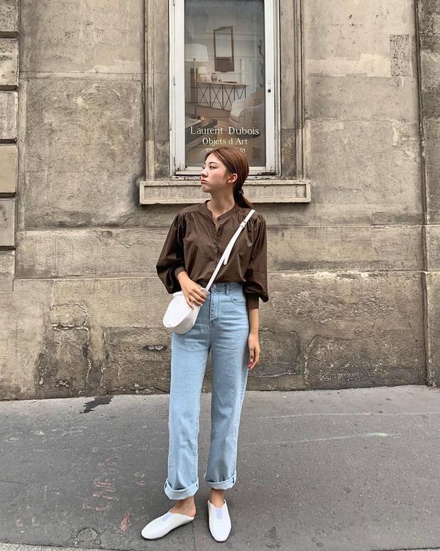 Đã tìm ra kiểu quần jeans vô địch về khoản hack tuổi, nhưng vẫn thanh lịch chẳng kém quần jeans trắng - Ảnh 8.