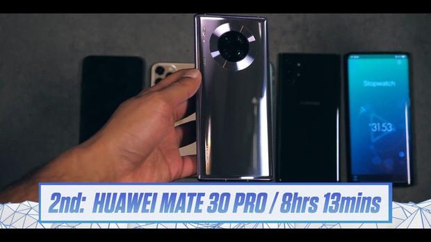 iPhone 11 Pro Max bứt phá top đầu pin trâu: Đánh bại cả Galaxy Note 10+ và Huawei Mate 30 Pro - Ảnh 4.