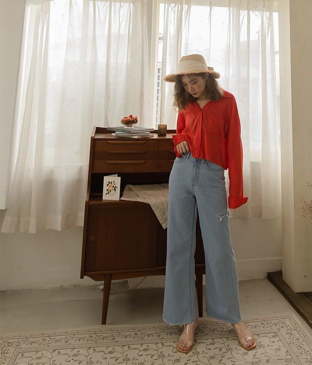 Đã tìm ra kiểu quần jeans vô địch về khoản hack tuổi, nhưng vẫn thanh lịch chẳng kém quần jeans trắng - Ảnh 5.