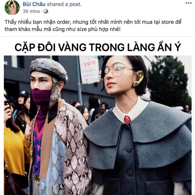Phát hiện của netizen: set đồ cực chất của Châu Bùi & Decao ở show Gucci hoá ra là để chống thị phi, khẩu nghiệp - Ảnh 4.