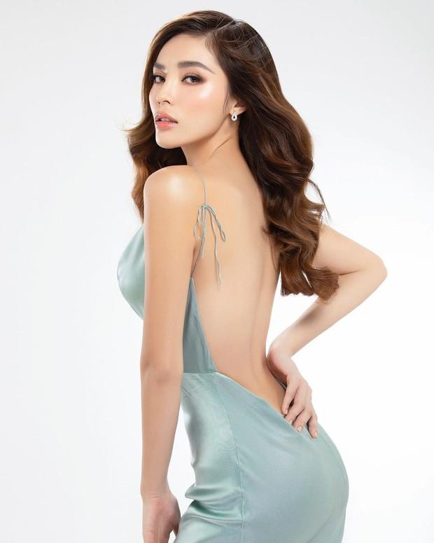 Giảm cân thành công, Kỳ Duyên lại khổ sở vì váy áo quá rộng, bị bóc mẽ bí mật thời trang cây nhà lá vườn - Ảnh 2.