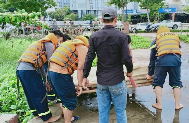 Hoảng hồn phát hiện thi thể nam thanh niên nổi trên sông Hàn - Ảnh 4.