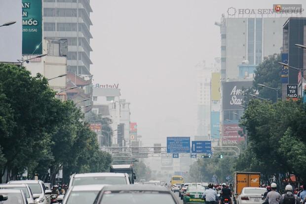 Sở Tài nguyên - Môi trường: Sài Gòn bị bao phủ màu trắng đục là do ô nhiễm không khí, thủ phạm không phải từ cháy rừng ở Indonesia - Ảnh 2.