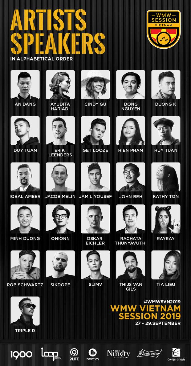 Hội nghị âm nhạc lớn nhất Châu Á chính thức trở lại Việt Nam, Slim V, Triple D... cùng loạt producer đình đám thế giới đều góp mặt - Ảnh 2.