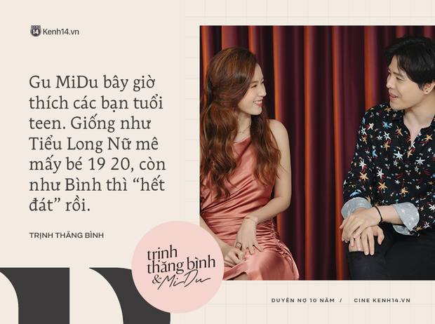 Trịnh Thăng Bình hờn dỗi trách yêu MiDu: 10 năm trước gặp sao anh không dính em được miếng nào vậy? - Ảnh 6.