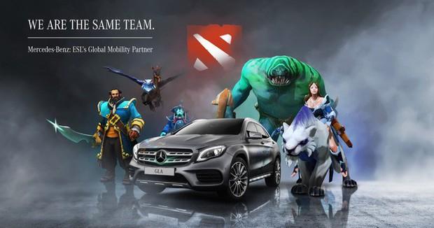 Mercedes-Benz tài trợ giải đấu DOTA 2 Việt Nam, các đội tham dự ngập mặt trong tiền thưởng - Ảnh 2.