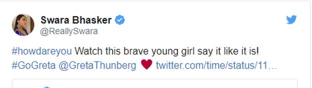 Greta Thunberg chính thức lên tiếng về cái nhìn sắc lạnh dành cho Tổng thống Mỹ và phản hồi về câu nói mỉa mai của ông Trump nhắm vào mình - Ảnh 2.