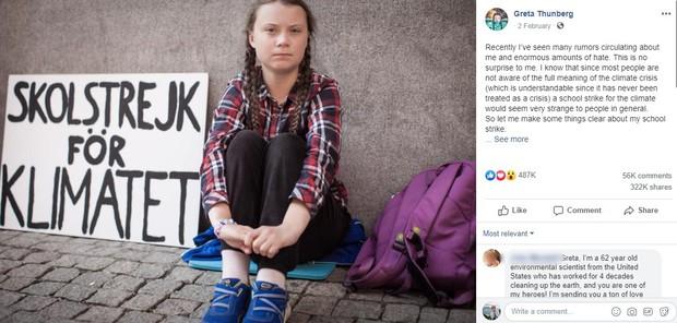 Trước khi gây bão với bài phát biểu quát thẳng mặt các nhà lãnh đạo, Greta Thunberg từng đáp trả tin đồn và chỉ trích đanh thép thế này đây - Ảnh 1.