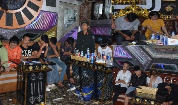 Vụ 100 cảnh sát đột kích karaoke Paradise: Chân dài và những dân chơi xăm trổ - Ảnh 4.