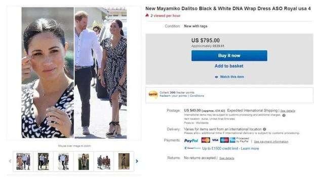 Bị chê phản cảm, Meghan Markle vẫn khiến mẫu váy hở hang cháy hàng, dân tình tranh nhau mua với giá đắt gấp 10 lần - Ảnh 5.