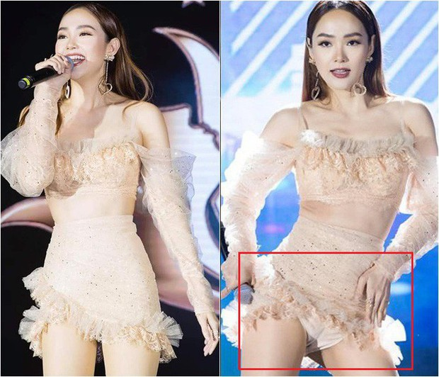 Idol Hàn mặc quần bảo hộ để tránh hớ hênh, sao Việt cũng lộ nhưng cao tay hơn nhờ chi tiết này - Ảnh 7.