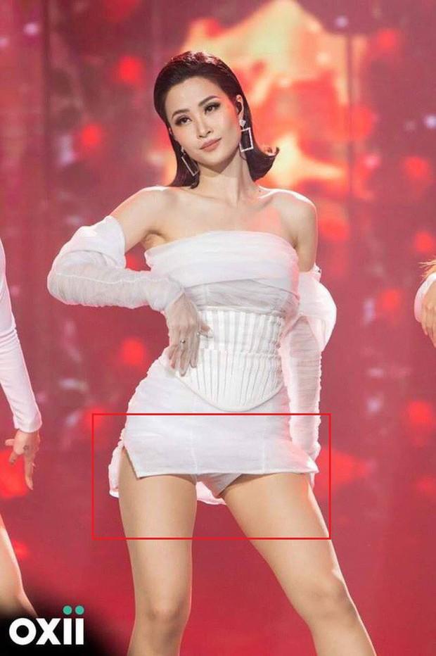 Idol Hàn mặc quần bảo hộ để tránh hớ hênh, sao Việt cũng lộ nhưng cao tay hơn nhờ chi tiết này - Ảnh 8.