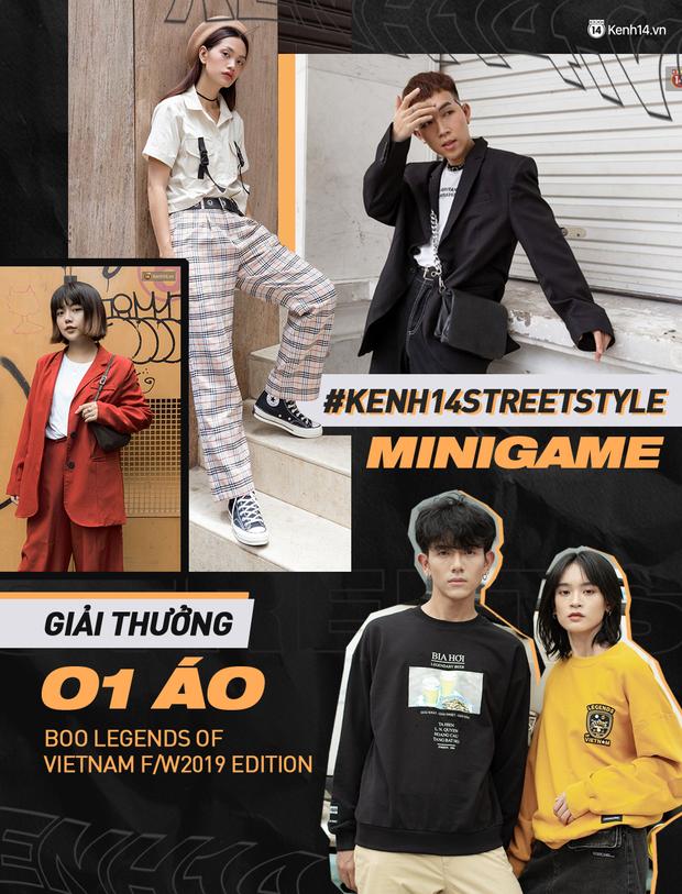 Mini Game #kenh14streetstyle tuần 3 chính thức trở lại, giải thưởng vẫn lợi hại: khoe ảnh OOTD nhận ngay áo Boo xịn sò - Ảnh 2.